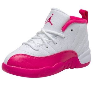 Toddler Girls 8c Air Jordan 12 Retro TD Vivid Pink